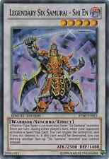 1 X Legendary Six Samurai - Shi En Super Mint RYMP-ENSE1 Ra Yellow Mega Pack