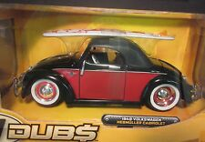 1949 Volkswagen Cabriolet 1:24 V Dubs Jada Toys 2006 Diecast Toy Car New in Box