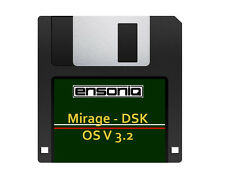 Ensoniq Mirage 3 Disk Set - FMT | MASOS V2 | OS v3.2 - Free Overnight Shipping