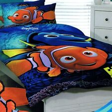 Finding Nemo -Dory Gimme Some Fin Single/US Twin Bed Quilt Doona Duvet Cover Set