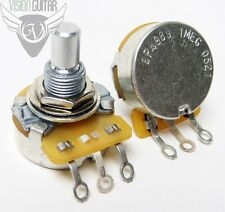 CTS 1 Meg Ohm Short Solid-Shaft Potentiometer Volume Tone Pot - Audio Taper