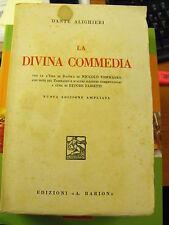 La Divina Commedia - Dante Alighieri, a cura di E.Fabietti - Ed. A.Barion (A10)