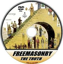 FREEMASONRY DVD WATCH + LEARN THE TRUTH OF THIS SECRETIVE MASONIC ORDER  NEW