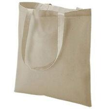 PROMO spalla cotone naturale SHOPPING BAG pieghe AWAY 41cmx36cm