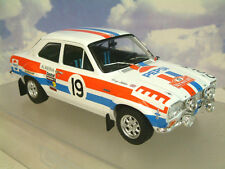 TRIPLE 9/T9 1/18 FORD ESCORT MK1 RS1600 MONTE CARLO RALLY 1972 MAKINEN/LIDDON