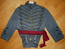 Vintage Rare Late 1800s To 1900 US Military Officer Uniform Coatee Tailcoat Sash