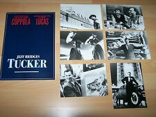 TUCKER - Presseheft ´88 + 6 PF - JEFF BRIDGES, Coppola