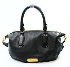 Marc by Marc Jacobs NEW Black Leather Small Legend Satchel Bag Purse $378-#058