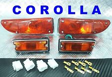 SIDE MAKER & PARKING LIGHT AMBER TOYOTA COROLLA KE20 KE25 KE26 TE21 TE27 TE28