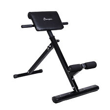 Soozier Back Hyper Extension Bench Hyperextension Roman Chair Abs Fitness New
