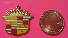 Vintage Rare Mary Kay WE WON A PINK CADILLAC Car Charm Award Cosmetics 1974 pin