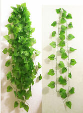 "10x 90"" Artificial Grape Vines Ivy Hangings Home Party Wall Garland Decor"
