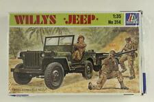 Plastic Military Model Kit Minatures 1:35 Scale WILLYS JEEP No 314