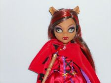 MONSTER HIGH Clawdeen Wolf Scary Tales  EUC