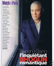 Coupure de presse Clipping 2003 Takeshi Kitano  (3 pages)