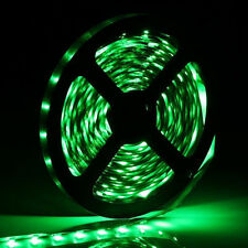 Car Boat Decor Waterproof Green 16ft 5M 3528 SMD 300 LEDs Strip Light Flexible