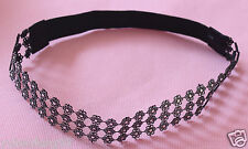 1PCS PRETTY Rhinestone Crystal Headband Elastic Stretch Hair Band Hairband