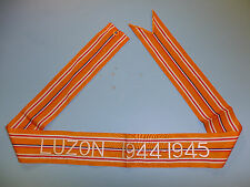 b3153 WW 2 US Army Flag Streamer Asatic-Pacific Luzon 1944 1945