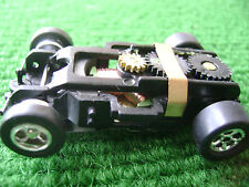 Blowout Autoworld Xtraction Ultra G HO Slot Car Chassis / Pin Run on AFX Aurora