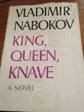 King, Queen, Knave by Vladimir Nabokov BMC Hardcover w/ Dust Jacket 1st Edition