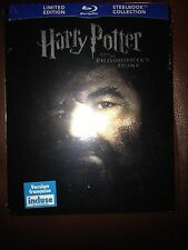 Harry Potter and the Philosopher's Stone Blu ray Steelbook Futureshop Rare