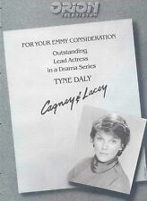 """1985 RARE 'TYNE DALY' """"CAGNEY & LACEY"""" ORION TV EMMY NOM PR AD"""