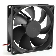 92mm x 25mm DC 12V 2Pin 65.01CFM Computer Case CPU Cooler Cooling Fan BT