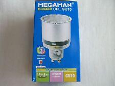 MEGAMAN AHORRO CFL GU10 14W BR2114i 3000K luz cálida