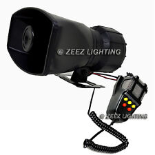 100W Car Warning Alarm Cop Police Fire Siren Horn Speaker MIC Upgraded System#15