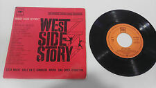 "WEST SIDE STORY SOUNDTRACK 1962 CBS SINGLE 7"" VINYL SPANISH EDITION RARE"