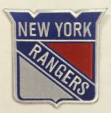 """New York Rangers NHL Hockey Logo / Crest 3.5""""x 4"""" Inch Iron On / Sew On Patches"""