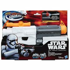 Star Wars Nerf Super Soaker Stormtrooper Blaster Water Gun Ages 6+ New Toy Fight