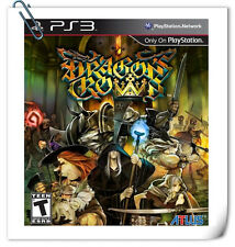 PS3 Dragon's Crown ENG SONY PlayStation Games RPG Atlus