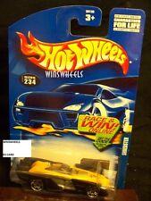 HOT WHEELS 2002 #234 -1 SHREDSTER YELLO 02C MALAY