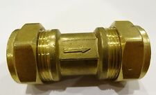 28mm Spring Single Check Valve | Non-Return One Way Valve