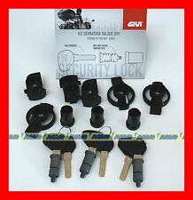 GIVI KIT SERRATURA 3 PZ SECURITY LOCK SL103 PER BAULETTO E VALIGIE TRK V46 V47