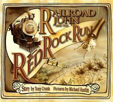 Railroad John and the Red Rock Run-ExLibrary