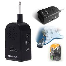Mini Amplificador Altavoz ABS para Guitarra Eléctrica Instumento Musical Negro