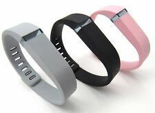 Replacement Wrist Band for Fitbit Flex SMALL Steel, Black, Orchid Bands 3 Clasps