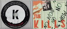 THE KILLS No Wow 2004 UK 11-track promo CD Alison Mosshart Dead Weather