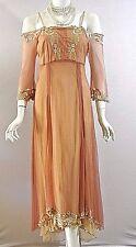 Vintage Style dresses Nataya Dress Sale Titanic Coral Lace Off the shoulder S