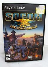 SOCOM: U.S. Navy SEALs Sony PlayStation 2, PS2 2002 Action Video Game Mature M