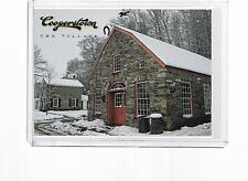 2012 PANINI COOPERSTOWN BASEBALL POSTCARD THE VILLAGE FARMER'S MUSEUM #9