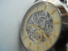 Fossil Automatic men's leather,water resistant & Analog dress watch.ME-1026.