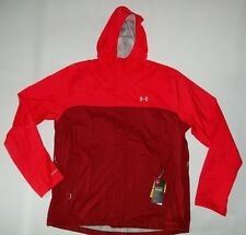UNDER ARMOUR UA Storm 3 Waterproof SURGE HOODED Red JACKET mens Size XXL 2XL NEW