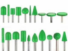 "10% discount 20 PC Green Saburr Tooth Carbide Burrs 1/4"" shank made in USA"