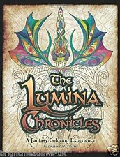 Lumina Chronicles Fantasy Adult Colouring Book Creative Art Therapy Relaxing Fun