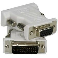 DVI-I Dual Link-M (24+5) to SVGA / VGA / DB15-HD Female DVI Adapter
