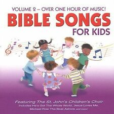 Bible Songs for Kids, Vol. 2 by The St. John's Children's Choir (CD, Apr-2002, …