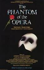 PHANTOM OF THE OPERA, THE (BROADWAY) Movie POSTER 11x17 Michael Crawford Sarah
